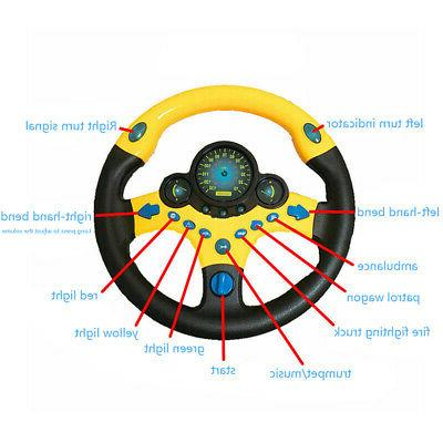 Kids Simulated Steering Toy Toys