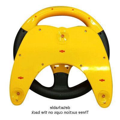 Kids Copilot Wheel Racing Driver Sound Toys
