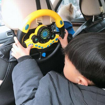 Kids Children Steering Wheel Toy Sound Toys