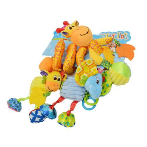 Kids Spiral Wrap Around Crib Toys
