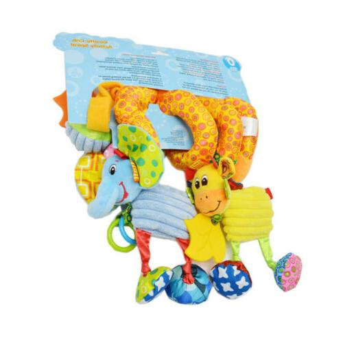 Kids Wrap Around Crib Rail Toy