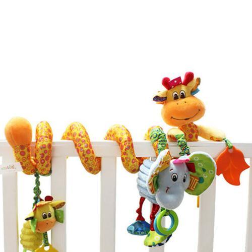 Kids Crib Rail Plush Toys