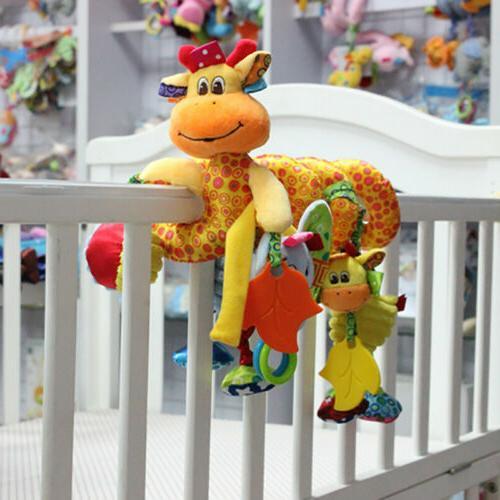 Kids Wrap Crib Bed Bassinet Rail Toys