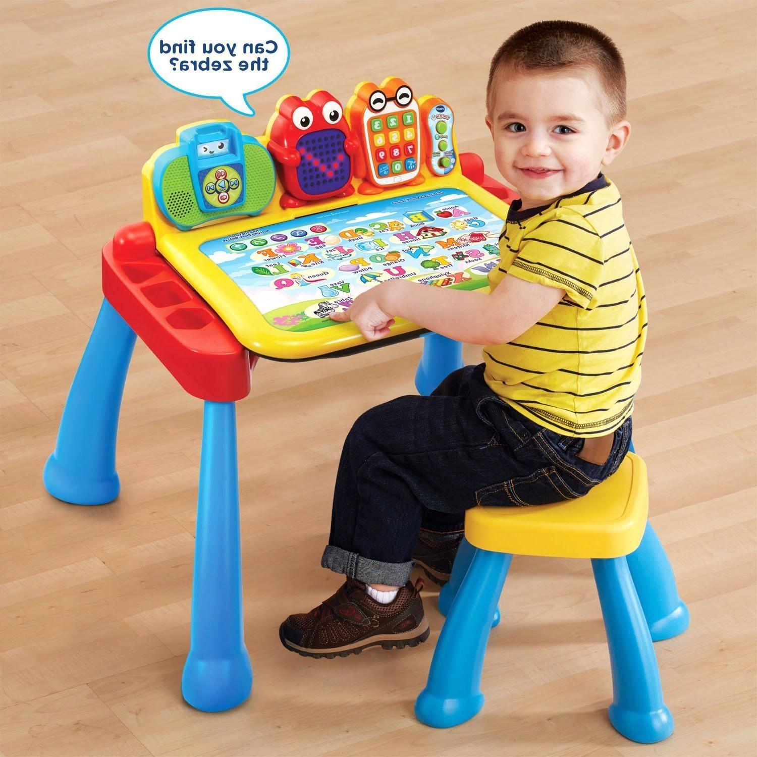 Kids Toys- VTech Activity Desk™ Delu & Cube,Blocks,Learning