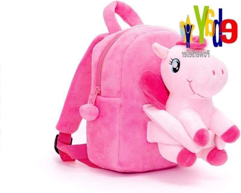 Conzy Kids Unicorn Backpack For 1-5 Year Old Kindergarten Gi