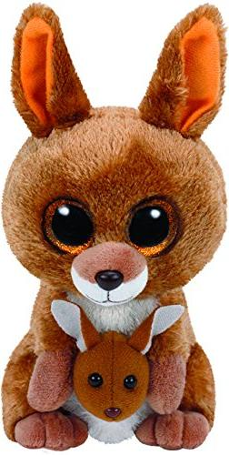 TY KIPPER KANGAROO BEANIE BOOS- NEW, MINT TAGS**IN HAND FOR