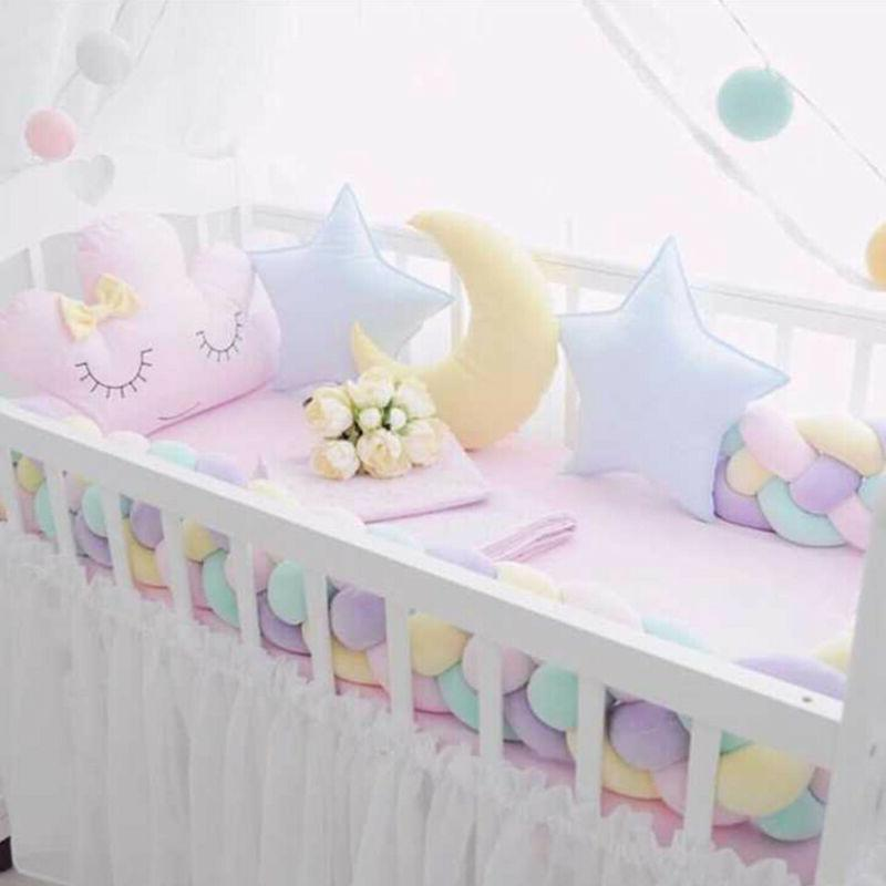Knot Weave Sofa Pillow Baby Soft Cushion Room