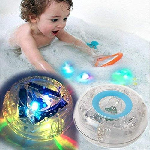 Children Bathing Ball Bath Light Floating Light Waterproof Colorful Light Toy OT