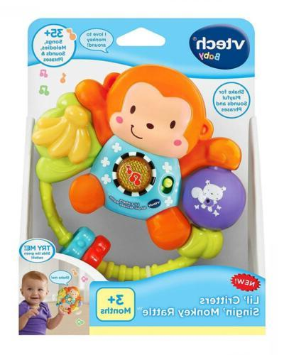 VTech Monkey Baby Toy 35 Play Gift