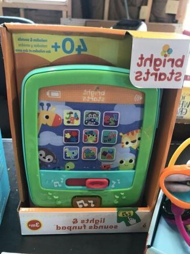 LOT New Baby Toys Bright Starts Lights &