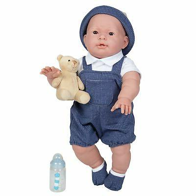 Doll 18in Boy Overalls Deluxe