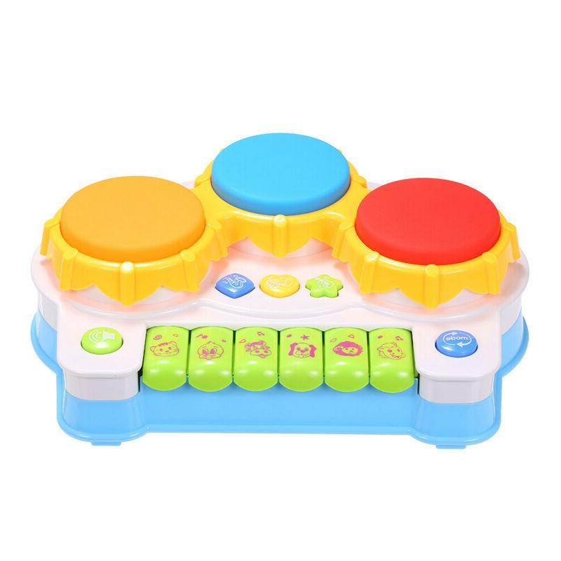 LUKAT Toys 1 Year Toddler, Piano Drum Instruments