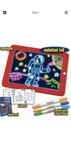 Magic Light-Up Pad As Seen On TV, Create Art