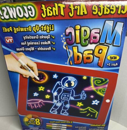 magic pad light up drawing pad led