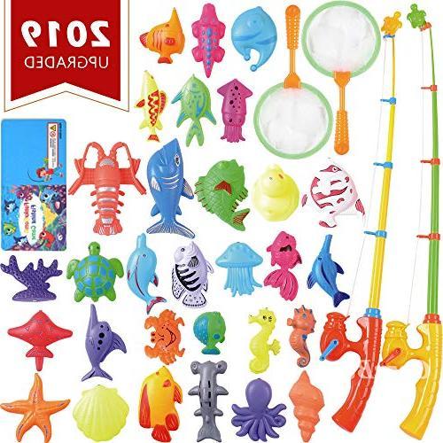 magnetic fishing toys game set