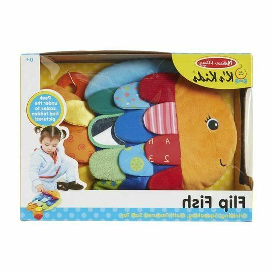 melissa and doug flip fish baby toy