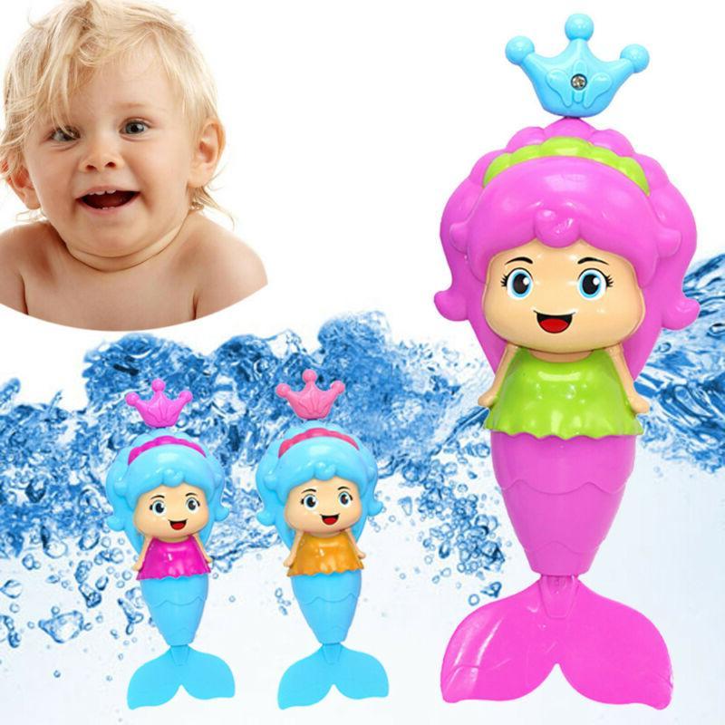 mermaid bath tub fun swimming baby bath