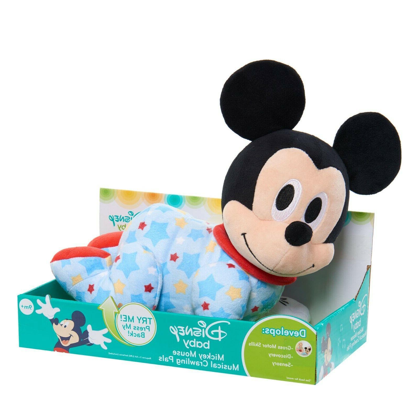 mickey mouse musical crawling pal