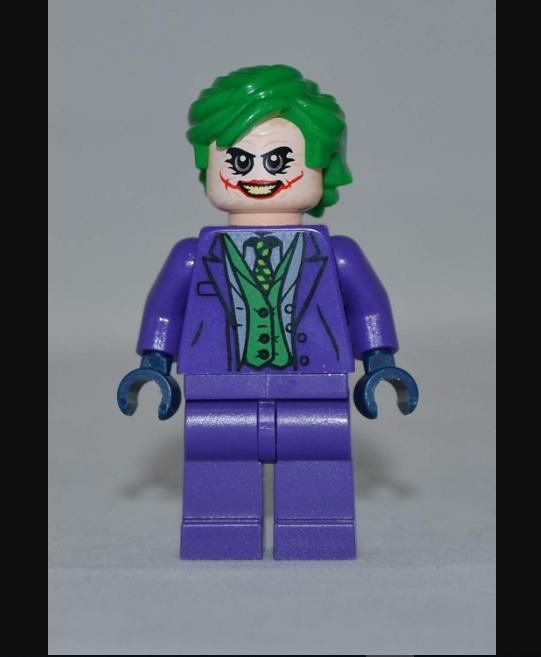 minifigure joker dark nihgt lego custom kids