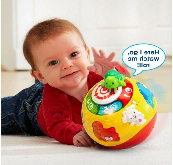Move and Crawl BALL Toys for 9 12 1 Year Old Self