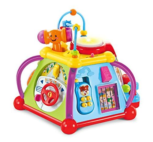 musical activity cube play center