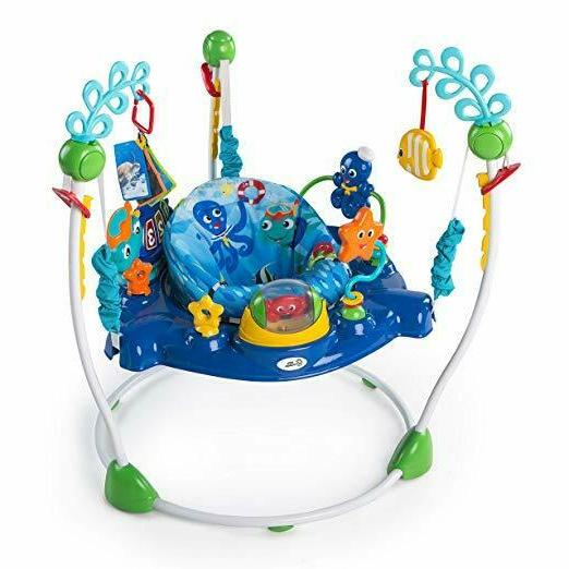 Baby Einstein Neptune's Discovery Bouncy swivels Baby Toys