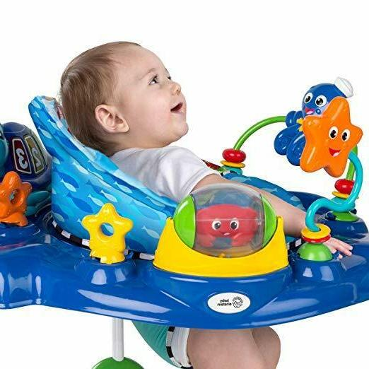 Baby Discovery Jumper seat swivels