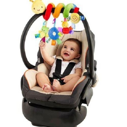 New Activity Spiral Car Travel Lathe Hanging Toys Toy