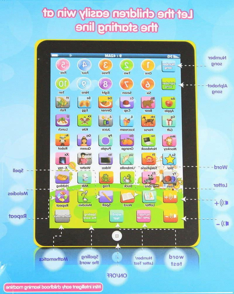 New Kids TABLET Gift For Boys Baby