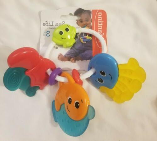 New of baby Toys fisher & Infantino Jumpin Giraffe Sea