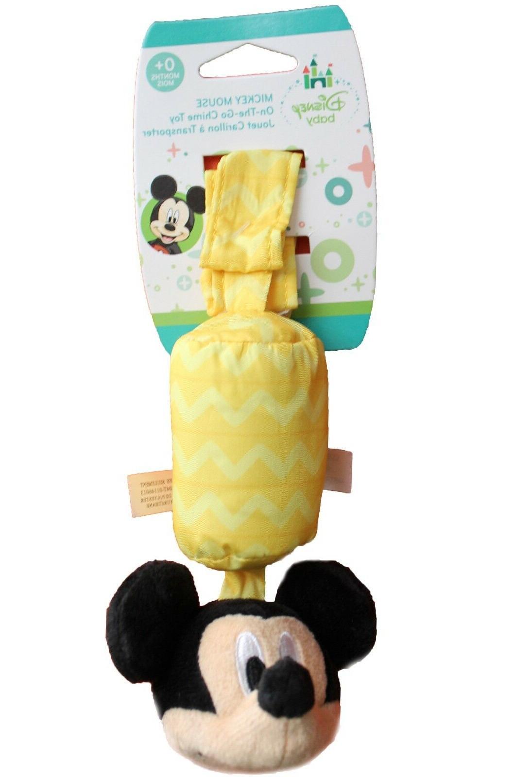 new mickey mouse plush take along chime