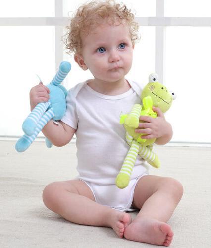 New Newborn Baby Plush Animal Toys Pram Bed Toy Doll Ja