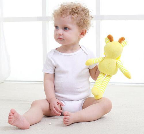 New Newborn Baby Plush Animal Toys Pram Bed Doll Ja