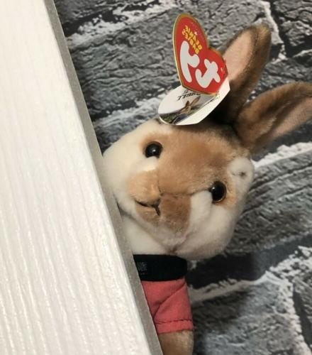 "NWT TY Peter Rabbit Rabbit 8"" Plush"