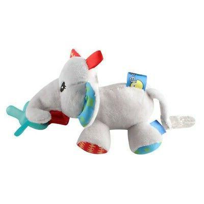 Pacifier Toys Handbells Plush Baby Plush Doll
