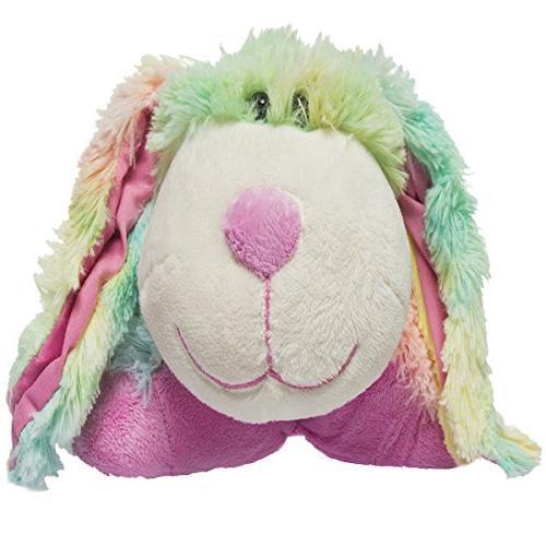 """My Pee Wee Rainbow Bunny 11"""""""