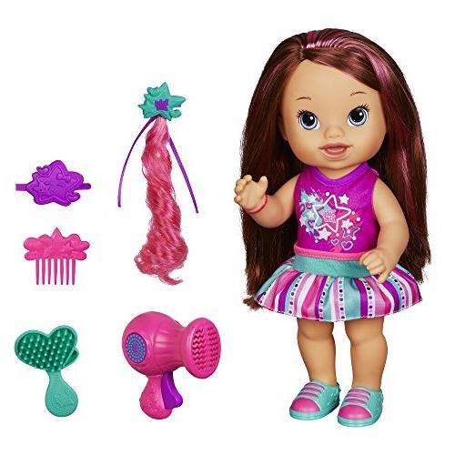 play n christina doll brunette