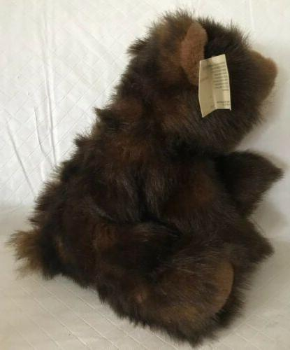 """Bearington Collection Baby Toy Brown 11"""""""
