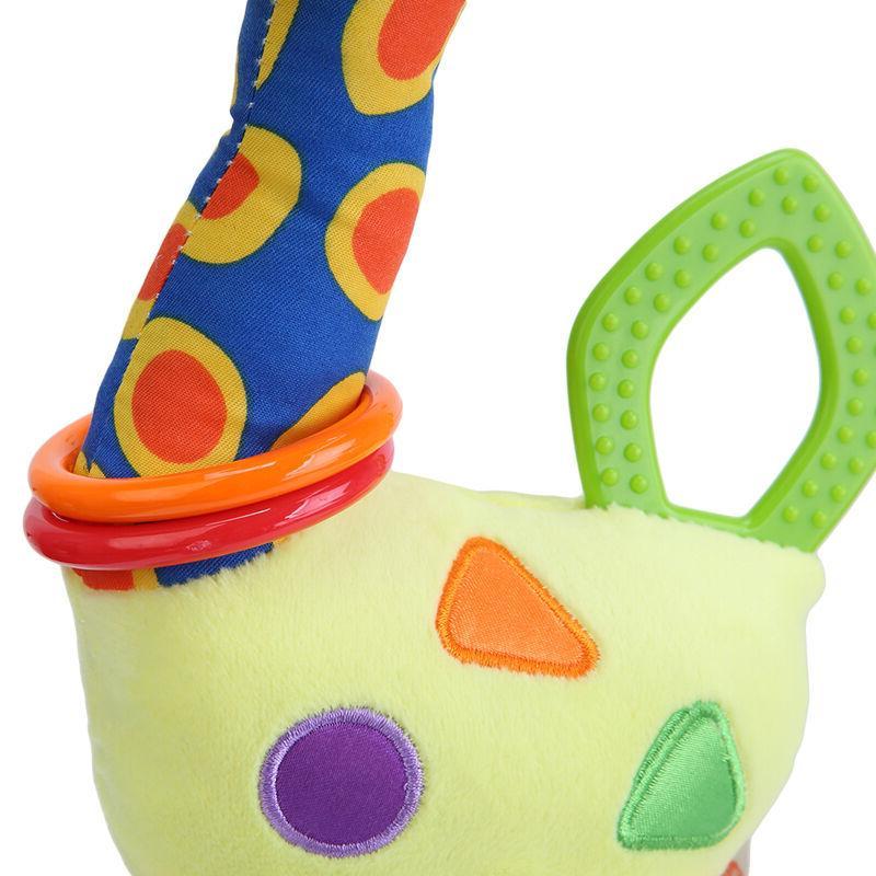 Plush Baby Soft Rattles Handle Toys