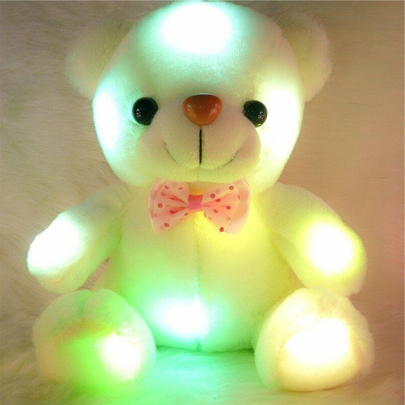 Toys For Kids LED Teddy Stuffed Bear 1 2 3 4 5 6 7 8 9+ Year