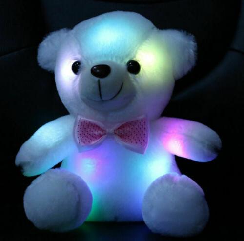 Plush Girls Baby Light Up Soft Teddy Kids Xmas