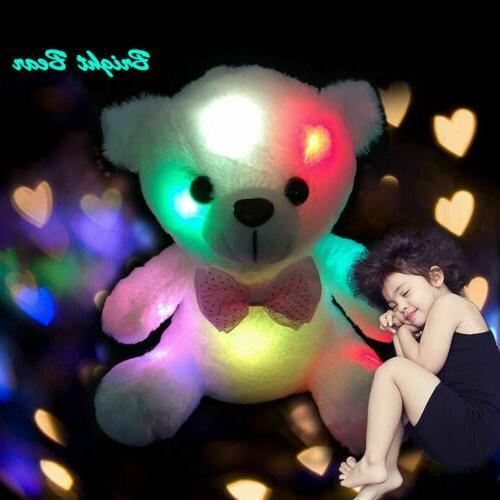plush toys for girls baby led light
