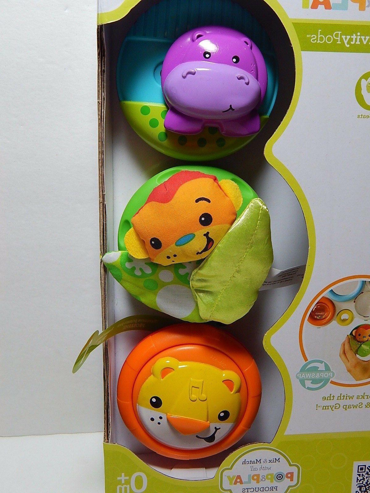Infantino 3-Piece Toys 0+ Months Jungle
