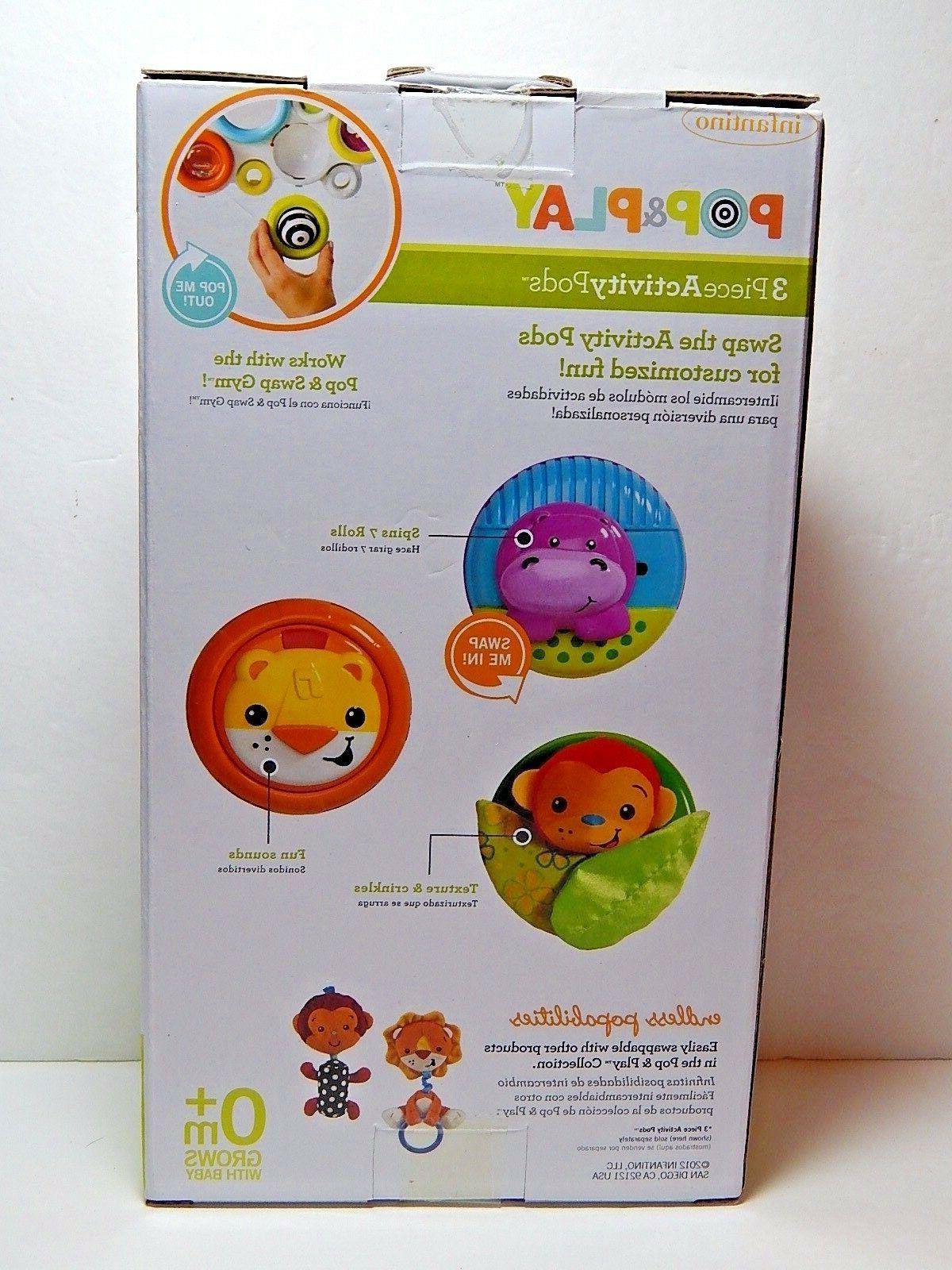 Infantino 3-Piece Activity Pods Toys