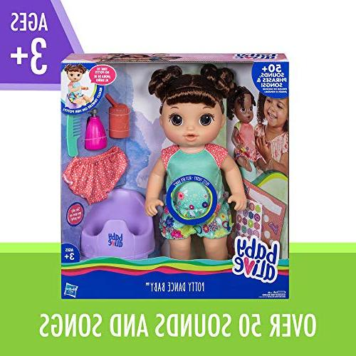"""Baby Alive Baby: Talking Baby with Rewards More, Doll """"Pees"""" On Girls & Boys Years Old & Up"""