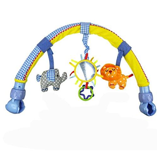 pram crib activity arch plush