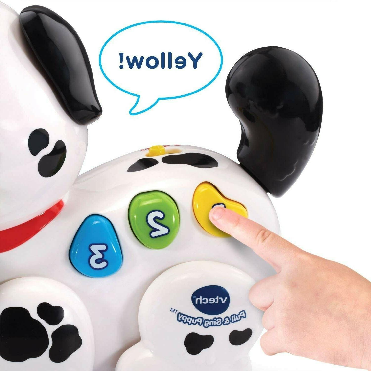 VTech Pull and Sing Puppy Toys For 1 to 3 Old Toddlers