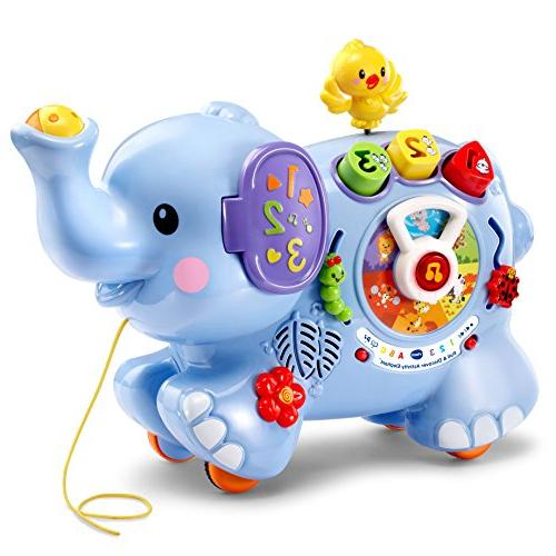 pull discover activity elephant