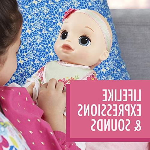 Baby Can Be Baby: Blonde Baby Lifelike Expressions, Movements Real Doll Toy Girls and and Up