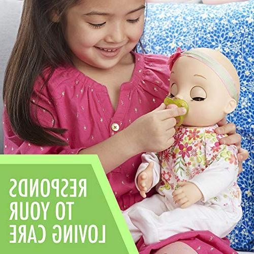Baby Can Blonde Doll, Lifelike & Real Doll Accessories, Girls and Boys and